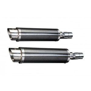 Delkevic slip-on kit Round Carbon 350mm - EN500C 1996-2011