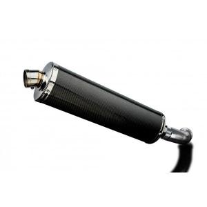 Delkevic slip-on kit Oval Carbon 450mm - VITPILEN 401 / SVARTPILEN 401
