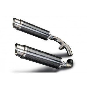 Delkevic slip-on kit Round Carbon 350mm - ST1100 PAN EUROPEAN 89-03