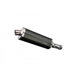 Delkevic slip-on kit Oval Carbon 350mm - V-Strom 1000 (2014-2020)