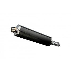Delkevic slip-on kit Oval Carbon 450mm - V-Strom 1000 (2014-2020)