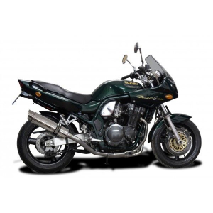 Delkevic volledig systeem Round RVS 350mm - GSF600 BANDIT (1995-2005)