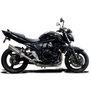 Delkevic volledig systeem Round RVS 350mm - GSF650 BANDIT (2007-2014)