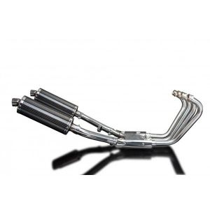 Delkevic volledig systeem Oval Carbon 350mm - XJR1300/SP (1998-2006)