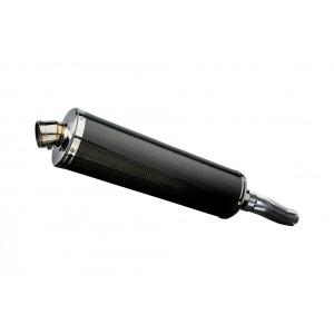 Delkevic slip-on kit Oval Carbon 450mm - CBF600N (ABS) (2008-2012)
