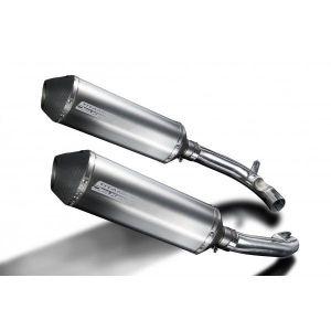 Delkevic slip-on kit X-Oval Titanium 343mm - VTR1000F Firestorm (1997-2003)