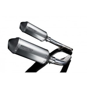 Delkevic slip-on kit X-Oval Titanium 260mm - CBF1000 (2006-2011)