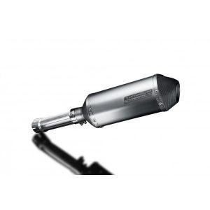 Delkevic slip-on kit X-Oval Titanium 260mm - F800GS (2007-2017)