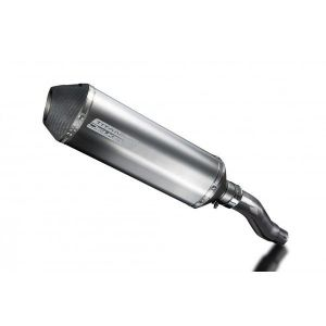Delkevic slip-on kit X-Oval Titanium 343mm - NINJA 300 (2013-2016)