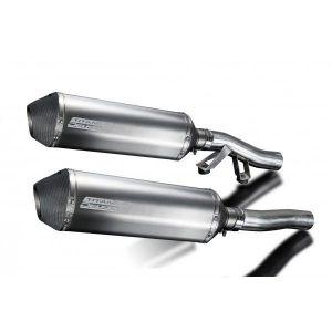 Delkevic slip-on kit X-Oval Titanium 343mm - GTR1000 (1986-2006)