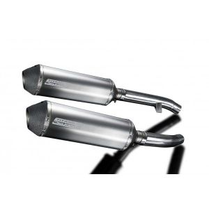 Delkevic slip-on kit X-Oval Titanium 343mm - FJR1300 (2000-2005)