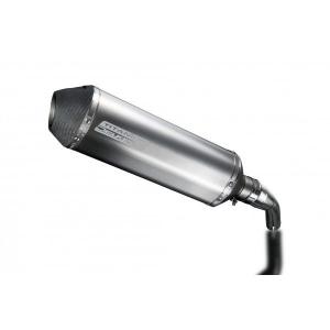 Delkevic slip-on kit X-Oval Titanium 343mm - YZF-R3 (2015-2020) MT03 (2017-2020)