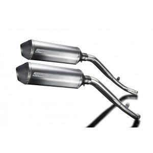 Delkevic slip-on kit X-Oval Titanium 343mm - XL1000V Varadero (1999-2014)