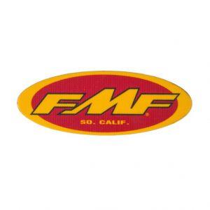 FMF sticker 123x45 mm NIET hittebestendig