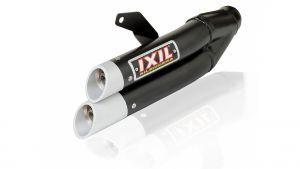 IXIL uitlaat Hyperlow black XL, ZX 300 R Ninja, 13-