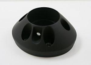 IXIL CONICAL Xtrem underseat eindkap, zwart, voor alle 193-xxx systemen