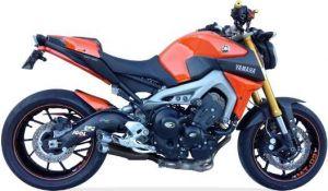 IXIL Hyperlow black XL volledig systeem voor YAMAHA MT-09, 14-, XSR 900, 16- (Euro3+4)