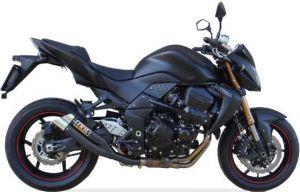 IXIL uitlaat Hyperlow black XL, Z 750 S/R, 07-12