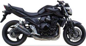 IXIL uitlaat Hyperlow black XL, GSF 650/1250 Bandit 07-15, GSX 650 F/1250 F 08-15