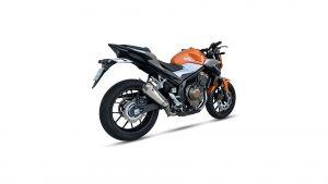 IXIL IXIL RC1 RVS-Uitlaat voor Honda CBR 500 R / CB 500 F, 19- (PC62,PC63) (Euro 4)