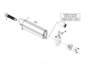 Katalysator MIVV ACC.033.C2