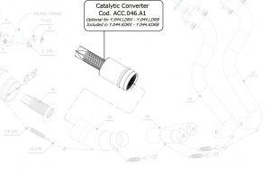 Katalysator MIVV ACC.046.A1