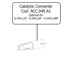 Katalysator MIVV ACC.049.A1