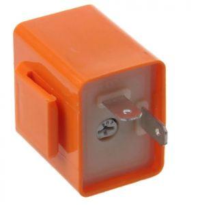 LED knipperrelais 2 polig regelbaar
