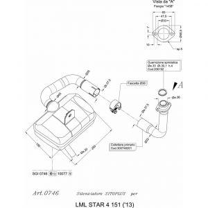Leovince Volledig systeem SITOPLUS LML STAR 4 151 2013 2015