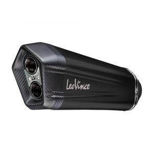 Leovince Universele demper LV-12 BLACK 75mm