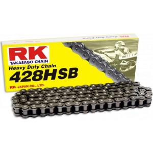Losse motorketting 428 (1/2 x 5/16) per 2 schakels RK 428 HSB (Versterkt)