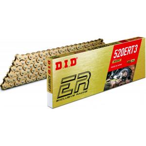 Losse motorketting 520 (5/8 x 1/4) per 2 schakels DID 520 ERT3 goud