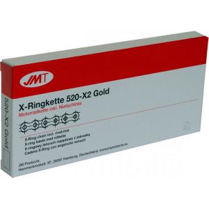 Losse motorketting 520 (5/8 x 1/4) per 2 schakels JMT 520 X2 (JX-Ring)