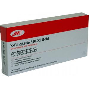 Losse motorketting 530 (5/8 x 3/8) per 2 schakels JMT 530 X2 (JX-Ring)