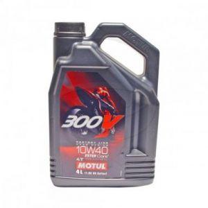 Motorolie 10W40 4 liter Motul SYN 300V FL Road Racing