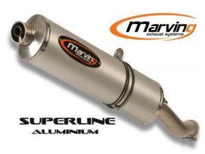 Marving uitlaat Aluminium voor Ducati ST 3