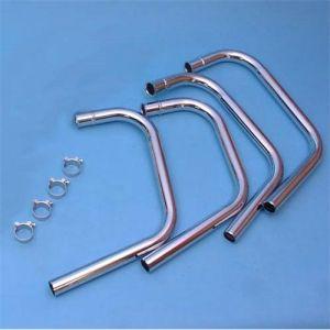 Marving Uitlaatbochtenset Verchroomd staal voor Honda CB 350