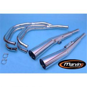 Marving Volledig systeem Verchroomd staal voor Honda CB 900