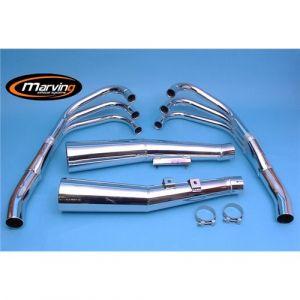 Marving Volledig systeem Verchroomd staal voor Honda CBX 1000