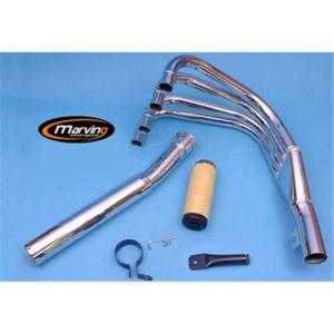 Marving Volledig systeem Verchroomd staal voor Kawasaki Z 1000
