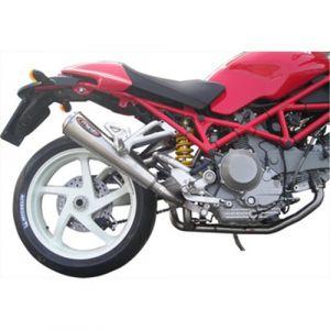 Marving uitlaat RVS voor Ducati Monster S2R