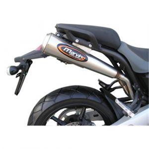 Marving uitlaat RVS voor Yamaha MT 03 - 660 cc