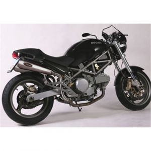 Marving uitlaat RVS voor Ducati Monster S4 /R/RS 600 620 750 800 900 1000
