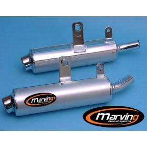 Marving uitlaat Aluminium voor Suzuki DR 800