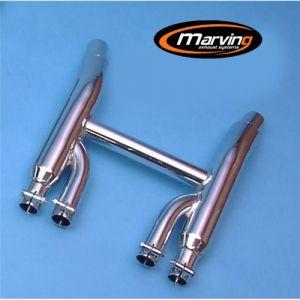Marving Collector Verchroomd staal voor Yamaha XJ 550