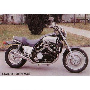 Marving uitlaat Verchroomd staal voor Yamaha V-Max 1200