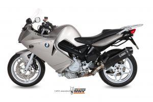 MIVV Slip-On SPEED EDGE RVS BMW F 800 S / ST 2006-2012