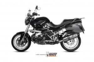 MIVV Slip-On SPEED EDGE RVS BMW R 1200 R 2011-2014