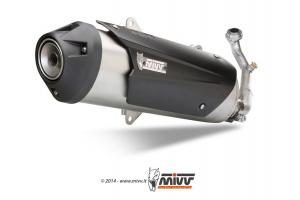 MIVV Volledig systeem - RVS KYMCO XCITING 400 2013-2016