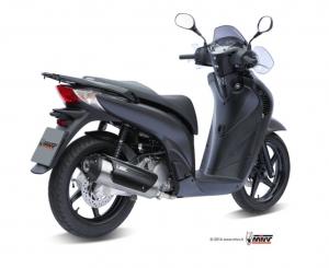 MIVV Volledig systeem - RVS HONDA PS 125 2006-2012